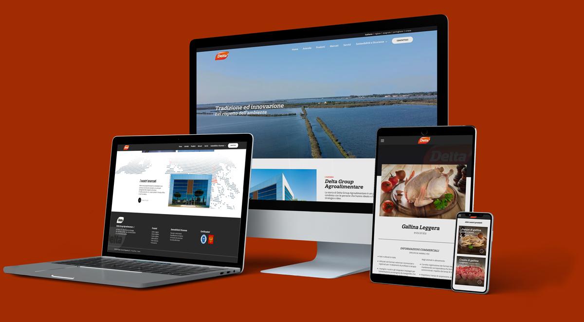 Siti web Verona - Sito web responsive con video corporate Delta Group   OIS