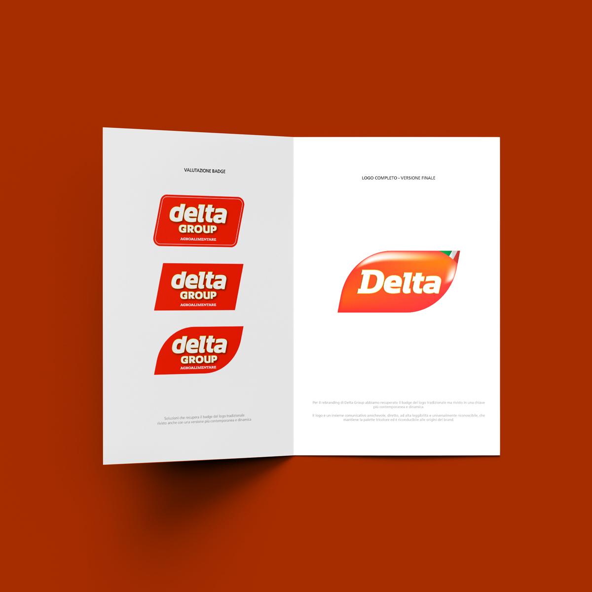 Studio grafica Verona - Restyling logo, Brand identity - Delta Group   OIS