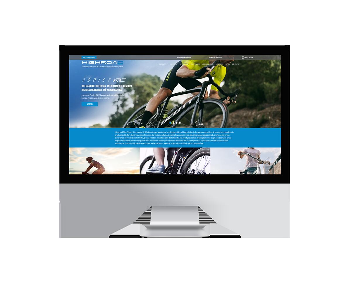 Siti web a Verona - Highroad BikeShop   OIS Web Agency