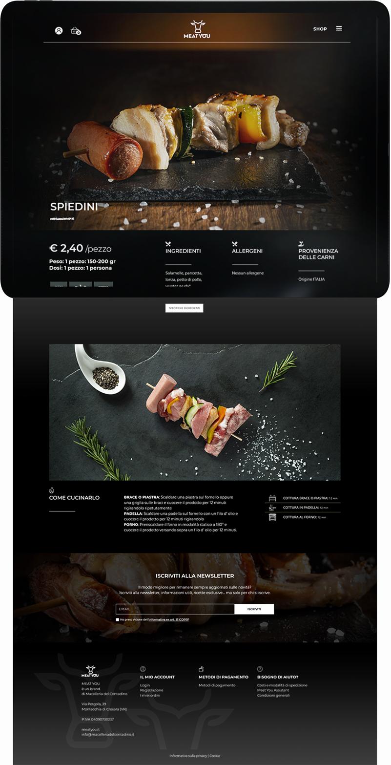 Ecommerce e siti web Verona - MeatYou | OIS Web Agency