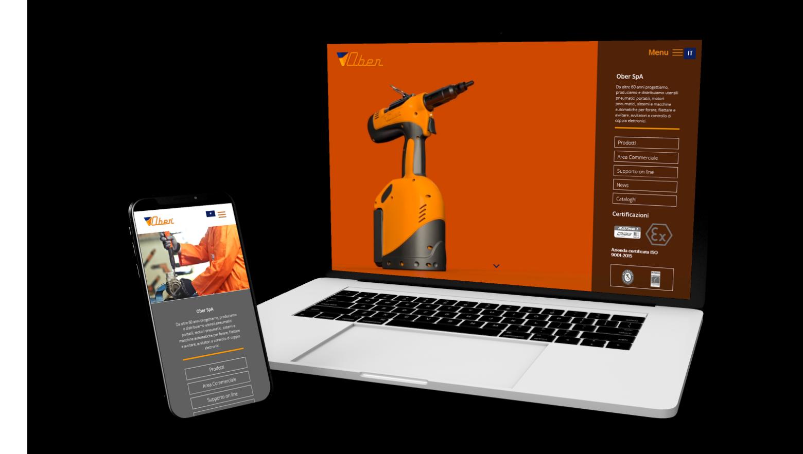 Siti web Verona - Web Design, Web Marketing - Ober S.p.a | OIS