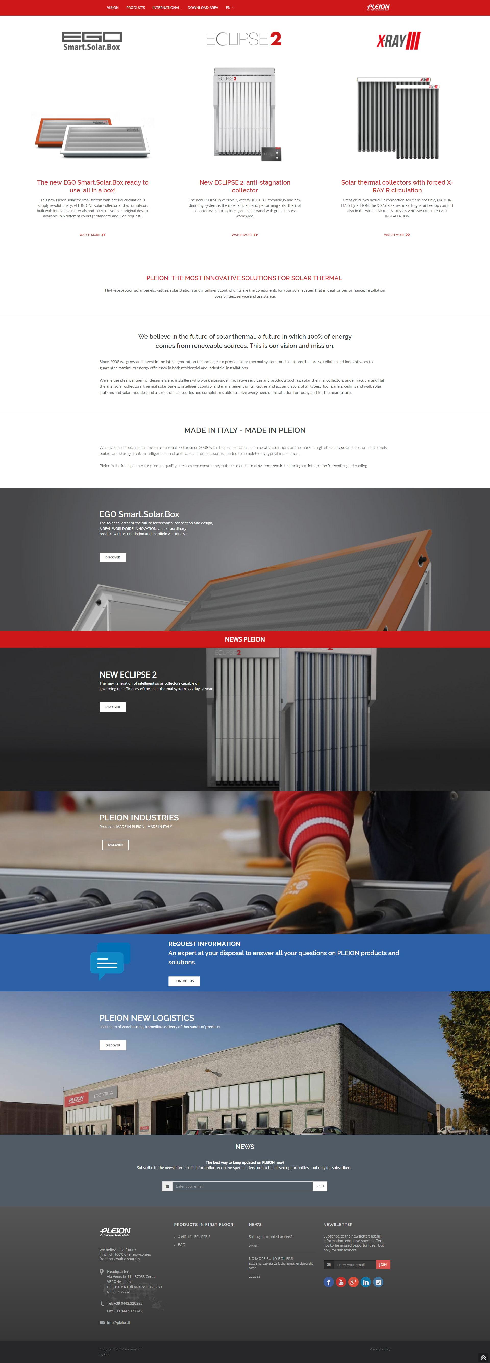 Web Agency Verona - Web Design, Web Development - Pleion S.r.l | OIS