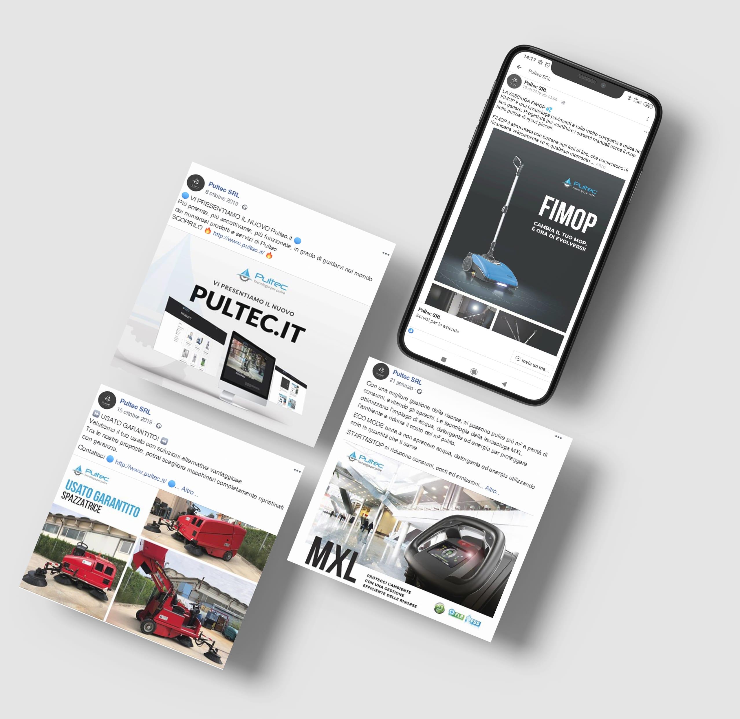 Social Media Marketing - Pultec | OIS Web Agency Verona