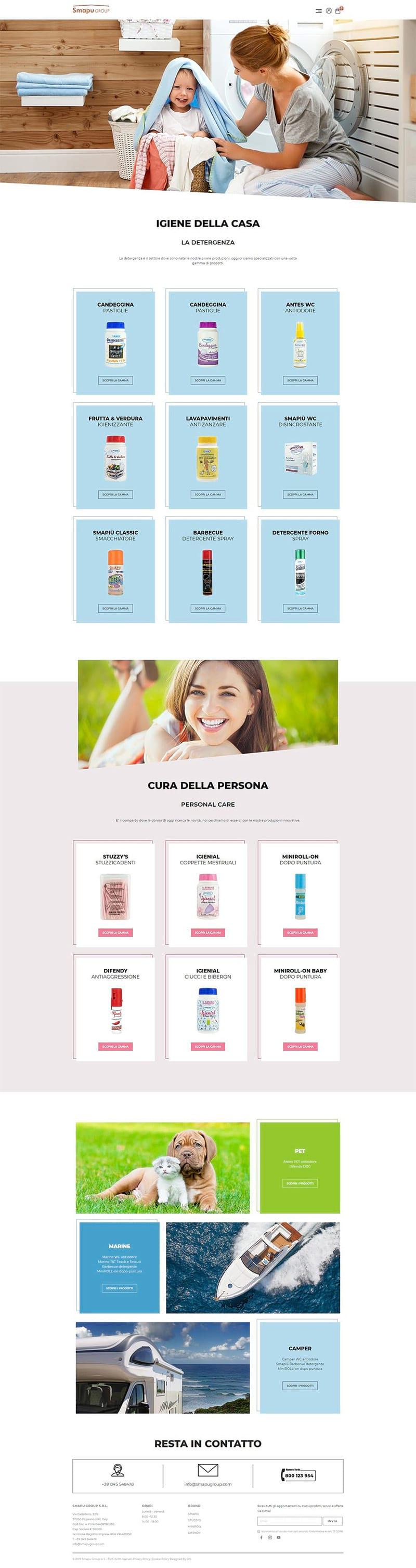 Ecommerce e siti web Verona - Smapu Group | OIS Web Agency