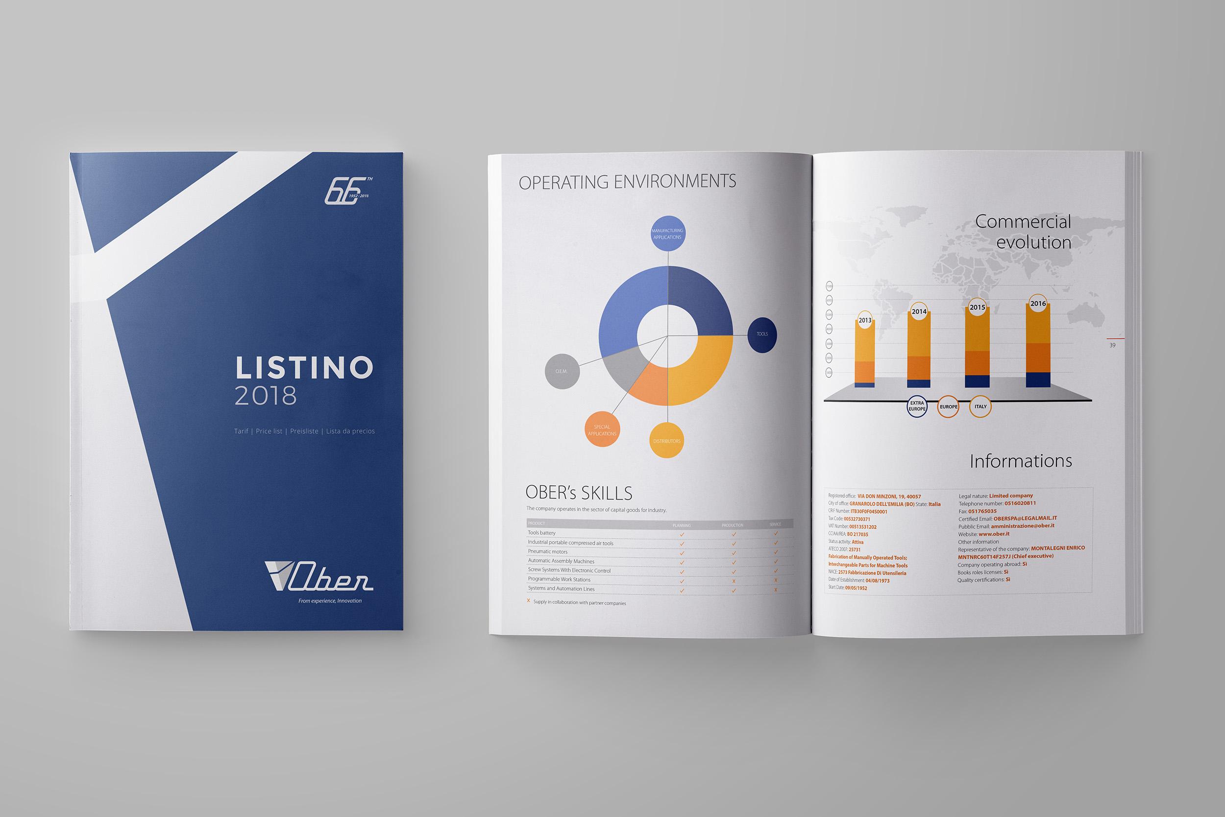 Studio grafico catalogo tecnico