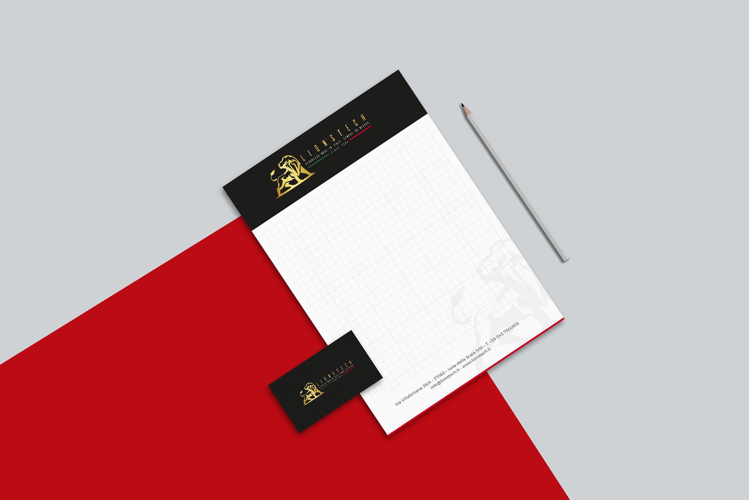 Studio grafico brand identity