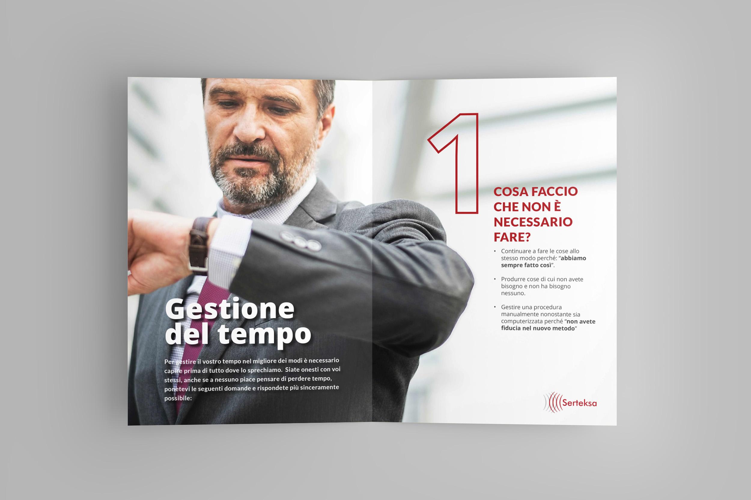 Studio grafico brochure