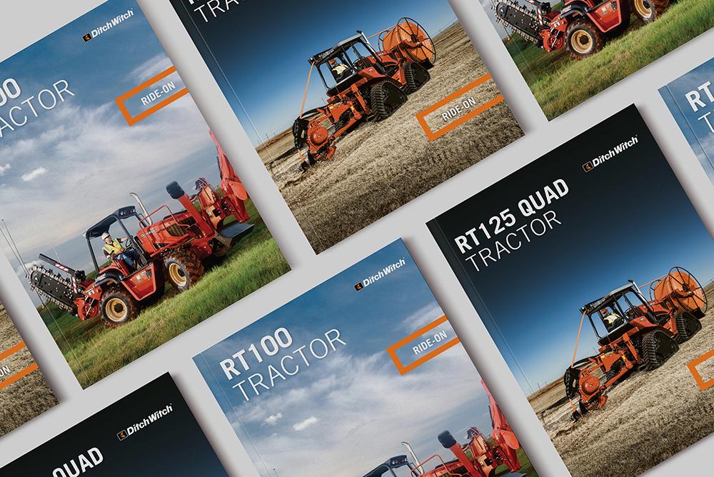 Studio grafico brochure prodotto
