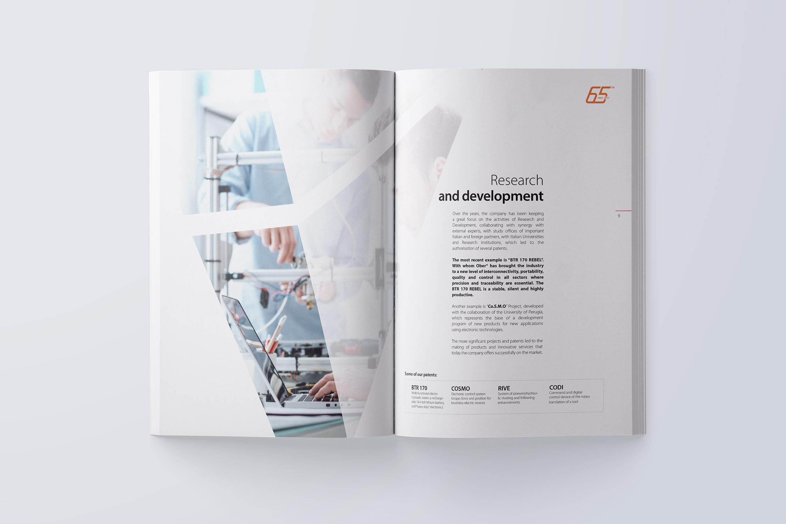 Studio grafico annual report