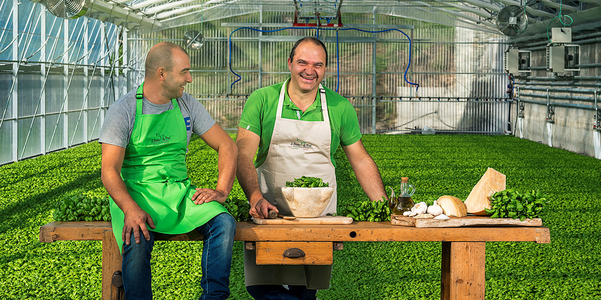 Fotografia Aziendale - Advertising still-life - Il Pesto di Prà | OIS Web Agency